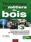 Télécharger le livre :  Technologie des métiers du bois - Tome 3