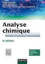Téléchargez le livre :  Analyse chimique - 8e éd.