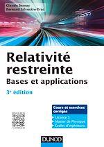 Téléchargez le livre :  Relativité restreinte - 3e éd