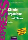 Télécharger le livre :  Chimie organique en 27 fiches - 3e éd