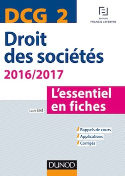 DCG 2 - Droit des sociétés 2016/2017 - 7e éd.