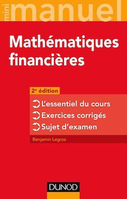 Mini-manuel - Mathématiques financières - 2e éd
