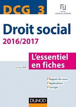 DCG 3 - Droit social 2016/2017 - 7e éd.