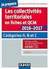 Télécharger le livre :  Les collectivités territoriales en fiches et QCM 2016-2017 - 4e éd.
