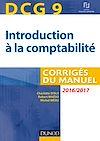Télécharger le livre : DCG 9 - Introduction à la comptabilité 2016/2017 - 8e éd