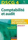 Télécharger le livre : DSCG 4 - Comptabilité et audit - 2016/2017 - 7e éd.