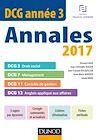 DCG Année 3 - Annales 2017