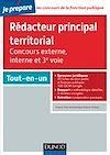 Télécharger le livre :  Rédacteur principal territorial - Concours externe, interne et 3e voie