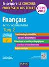 Télécharger le livre : Français - Professeur des écoles - Ecrit, admissibilité - T2 - CRPE 2017