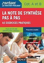 Téléchargez le livre :  La note de synthèse pas à pas - 2e éd.