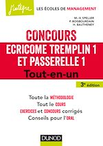 Téléchargez le livre :  Concours Écricome Tremplin 1 et Passerelle 1 - 3e éd.
