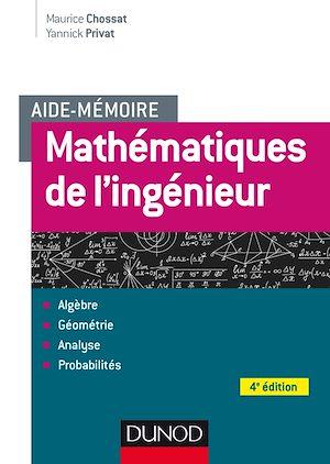 Téléchargez le livre :  Aide-mémoire - Mathématiques de l'ingénieur - 4e éd.