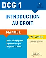 Download this eBook DCG 1 - Introduction au droit 2017/2018 - 11e éd. - Manuel