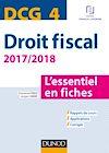 Télécharger le livre :  DCG 4 - Droit fiscal - 2017/2018- 9e éd.