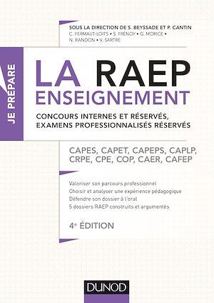 Téléchargez le livre :  La Raep enseignement - Concours internes et réservés, examens professionnalisés réservés