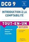Télécharger le livre :  DCG 9 - Introduction à la comptabilité 2017/2018