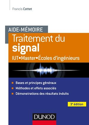 Téléchargez le livre :  Aide-mémoire - Traitement du signal - 3e éd.