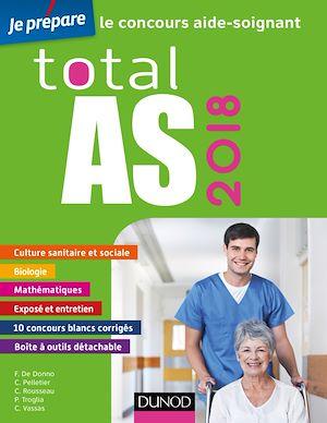 Téléchargez le livre :  Total AS 2018 - Le concours aide-soignant