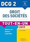 Télécharger le livre :  DCG 2 - Droit des sociétés 2019