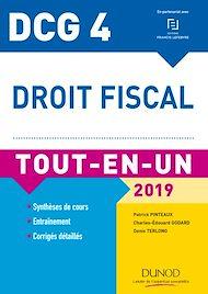Téléchargez le livre :  DCG 4 - Droit fiscal - Tout-en-Un - 2019
