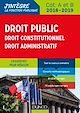 Télécharger le livre : Droit public - Droit constitutionnel - Droit administratif - 2018-2019