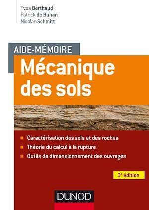 Téléchargez le livre :  Aide-mémoire - Mécanique des sols - 3e éd.