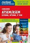 Télécharger le livre :  Concours ATSEM/ASEM - Externe, interne, 3e voie