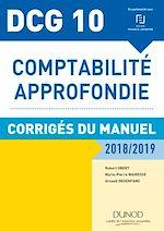 Download this eBook DCG 10 - Comptabilité approfondie 2018/2019 - Corrigés du manuel