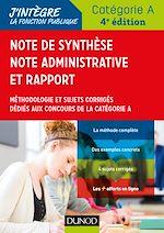 Téléchargez le livre :  Note de synthèse, note administrative et rapport - 4e éd.