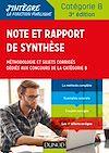 Télécharger le livre :  Note et rapport de synthèse