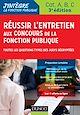 Télécharger le livre : Réussir l'entretien aux concours de la fonction publique