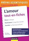 Télécharger le livre :  L'amour Tout-en-fiches - Prépas scientifiques 2018-2019