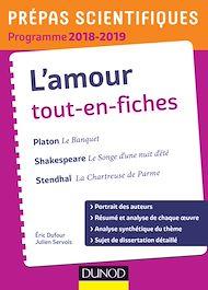 Téléchargez le livre :  L'amour Tout-en-fiches - Prépas scientifiques 2018-2019