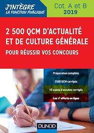 Téléchargez le livre :  2500 QCM d'actualité et de culture générale pour réussir vos concours 2019