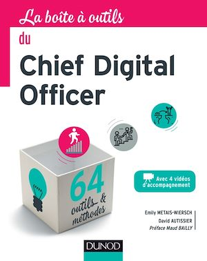 Téléchargez le livre :  La boîte à outils du chief digital officer
