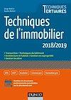 Télécharger le livre :  Techniques de l'immobilier - 2018/2019