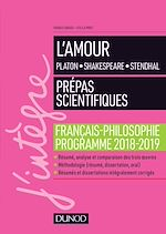 Download this eBook L'amour - Epreuve de français-philosophie Prépas scientifiques 2018-2019