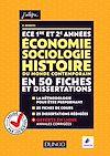 Télécharger le livre : ECE 1 et 2 - Economie, Sociologie, Histoire du monde contemporain en 50 fiches et dissertations