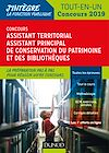 Télécharger le livre : Concours Assistant territorial Assistant principal de conservation du patrimoine