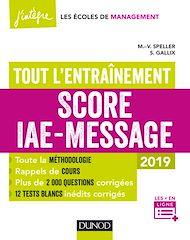 Téléchargez le livre :  Score IAE-Message - Tout l'entraînement - 2019