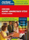 Concours Adjoint administratif d'Etat - Externe et interne | Priet, Benoît