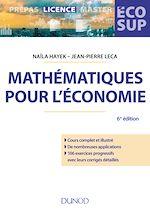 Téléchargez le livre :  Mathématiques pour l'économie - 6e éd.