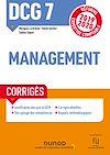 Télécharger le livre :  DCG 7 Management - Corrigés