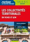 Télécharger le livre :  Les collectivités territoriales en fiches et QCM - Cat. A, B, C - 2019