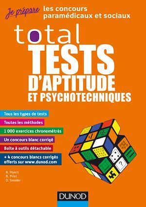 Téléchargez le livre :  TOTAL Tests d'aptitude et psychotechniques