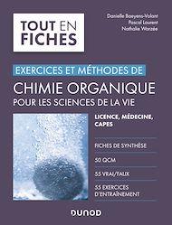 Téléchargez le livre :  Chimie organique pour les sciences de la vie - Exercices et méthodes