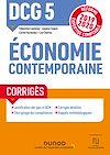Télécharger le livre :  DCG 5 Economie contemporaine - Corrigés