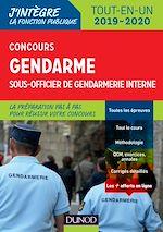 Téléchargez le livre :  Concours gendarme sous-officier de gendarmerie interne