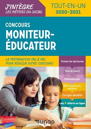 Téléchargez le livre :  Concours Moniteur éducateur - 2020-2021