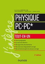 Téléchargez le livre :  Physique PC-PC* tout-en-un - 5e éd.